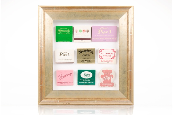 Simply Framed matchbook collection