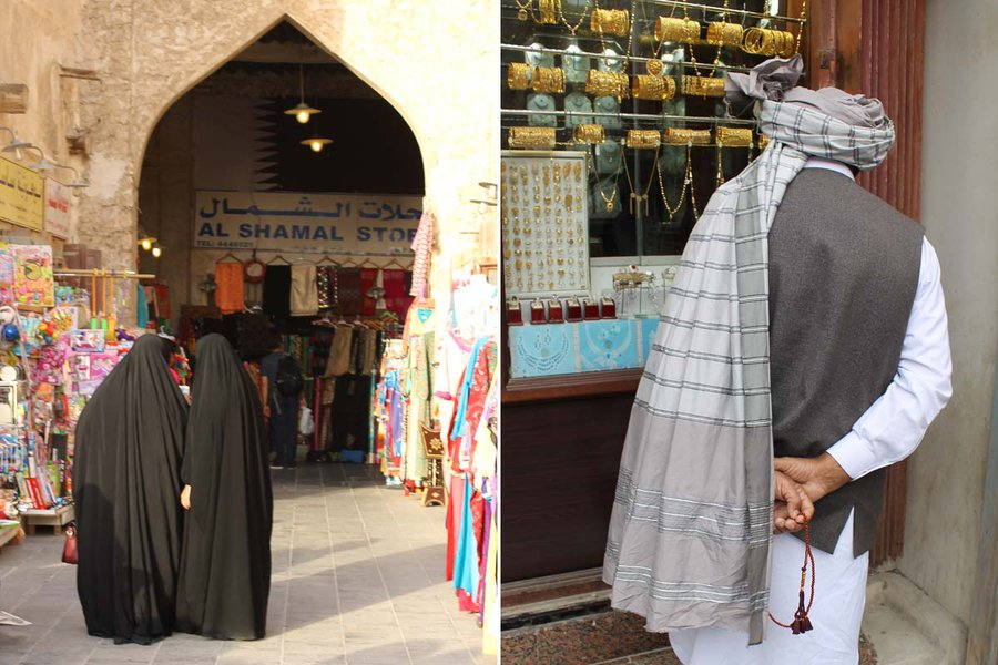 Women and Men in the Souq