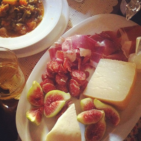 14. Figs and Proscuitto