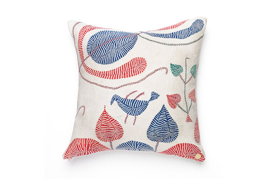 Kantha Pillow