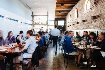 Staplehouse restaurant in Atlanta, Georgia.
