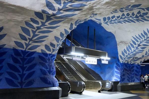 T-Centralen subway station - Stockholm, Sweden