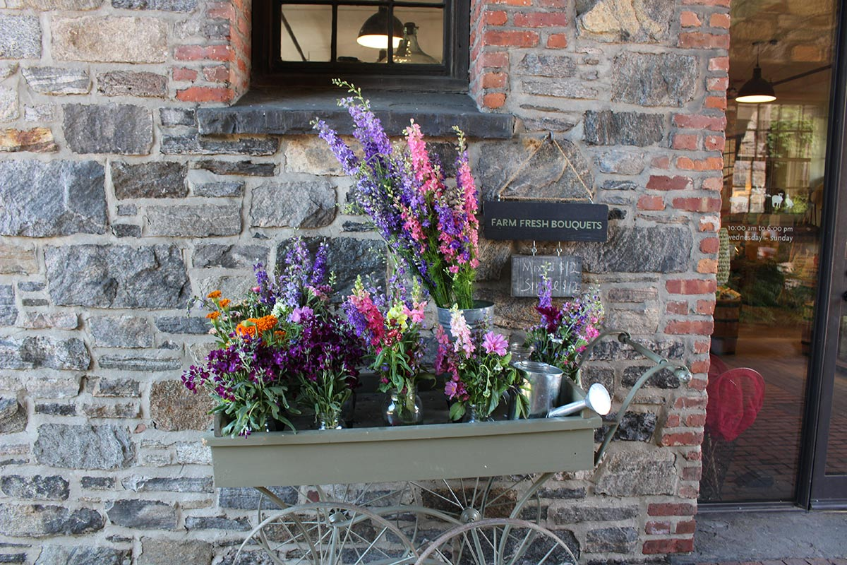 Farm Fresh Flowers at Blue Hill at Stone Barns