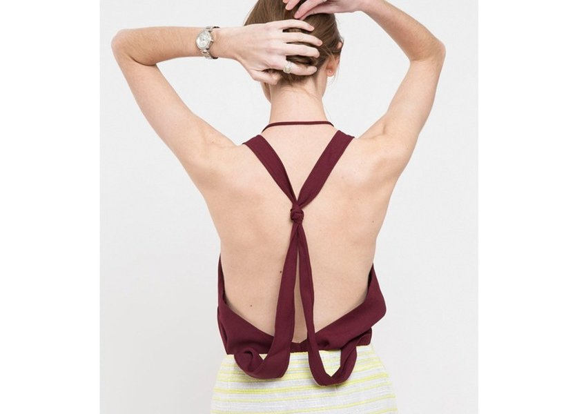Knotted Halter Tank