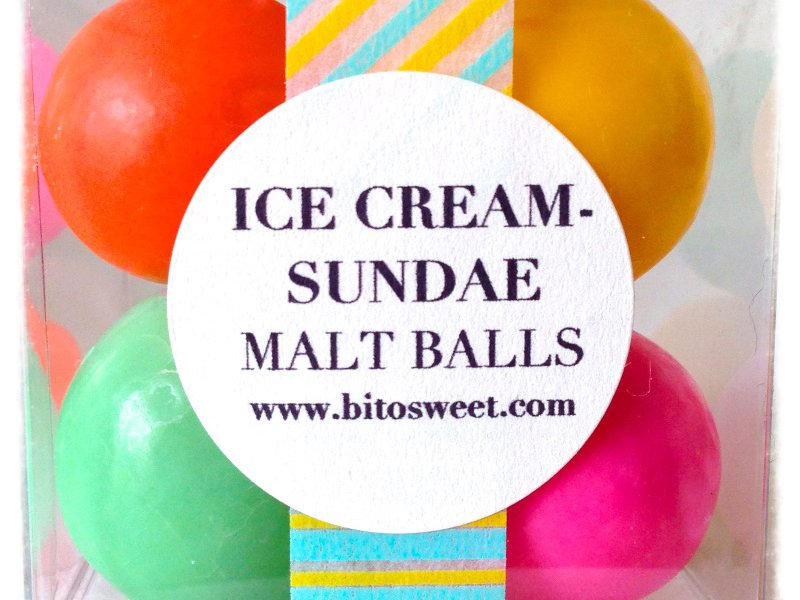 Ice Cream Sundae Malt Balls
