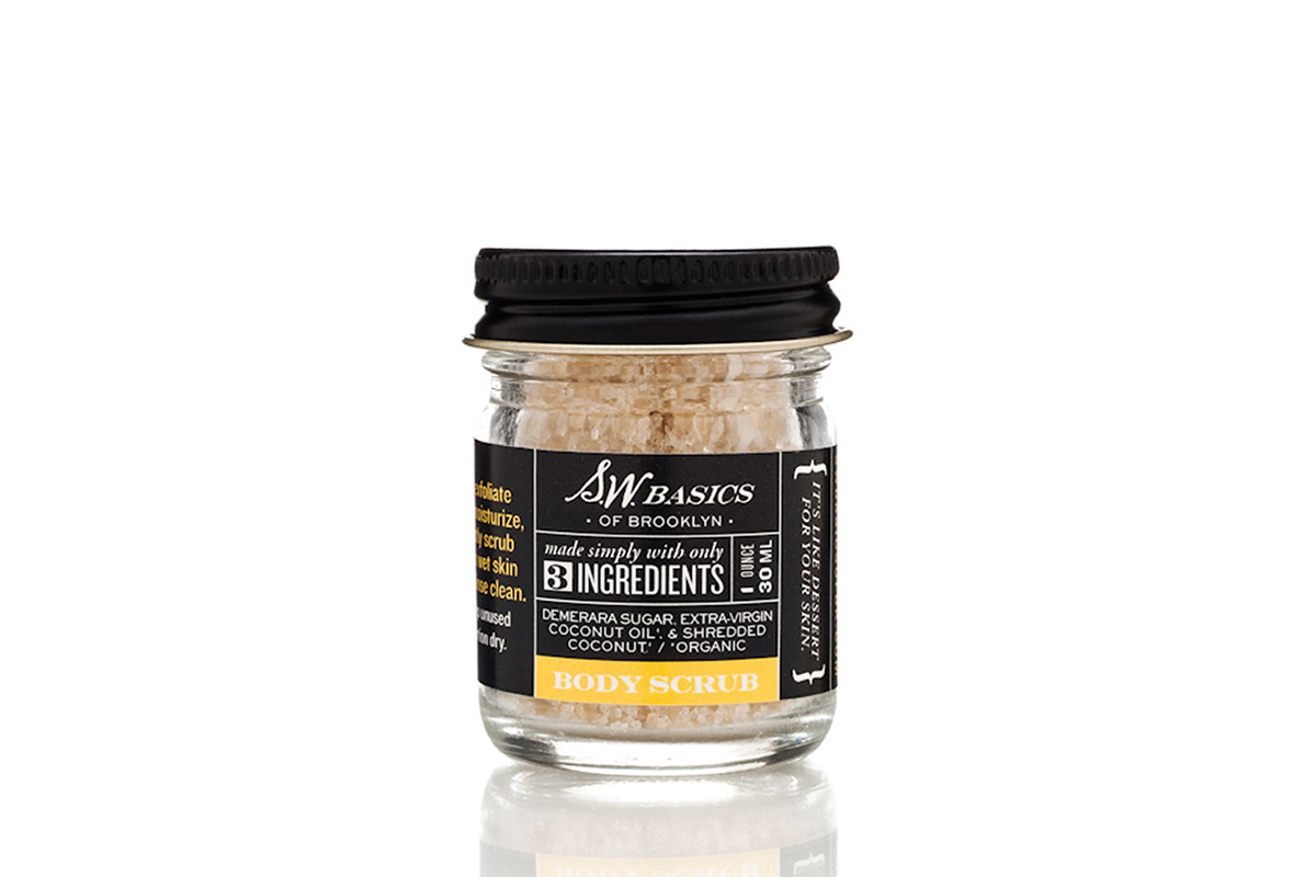 S.W. Basics Mini Body Scrub