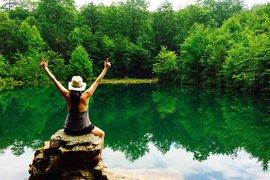 Swimming Hole Shenandoah Mountains