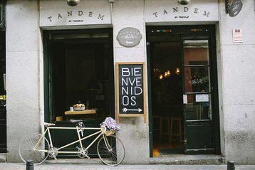 Restaurante Tándem. Madrid, Spain.