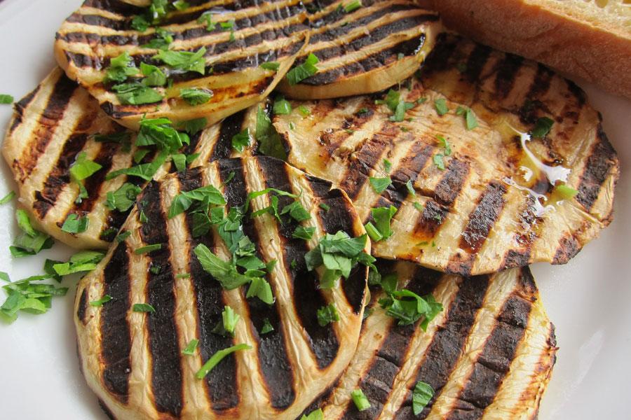 Taormina braised eggplant