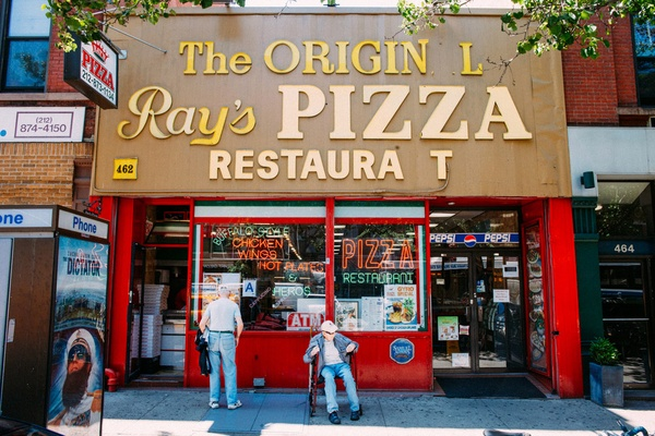 The Original Ray's Pizza, Upper West Side, Manhattan