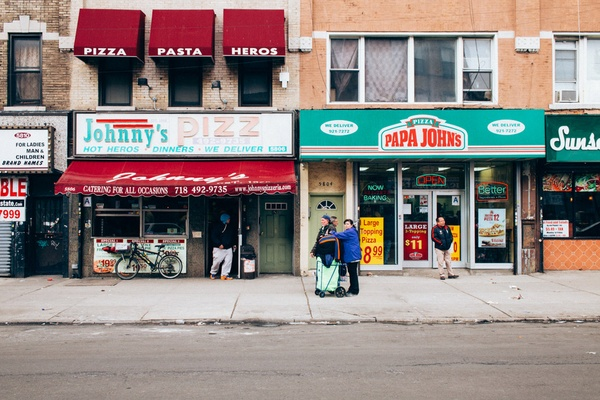 Johnny's Pizzeria, Sunset Park, Brooklyn