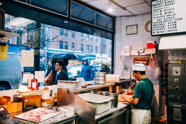Mike's Pizza, Upper East Side, Manhattan