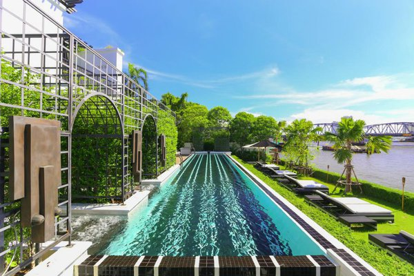 The Siam Hotel Pool