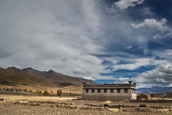 Tibetan Castle