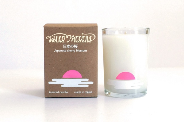 Wary Meyers Japanese Cherry Blossom Candle