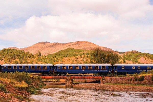 The Belmond Hiram Bingham Train