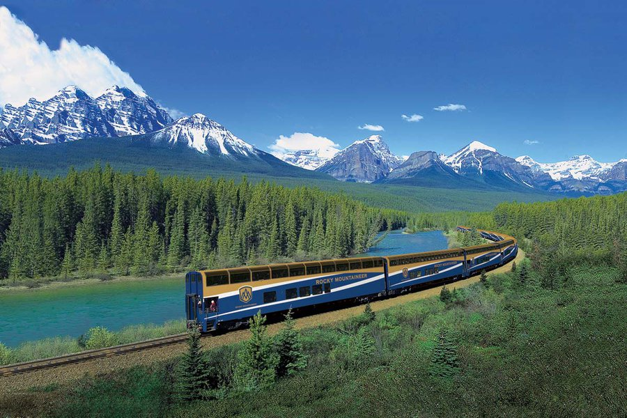 THE AMERICAS: Rocky Mountaineer