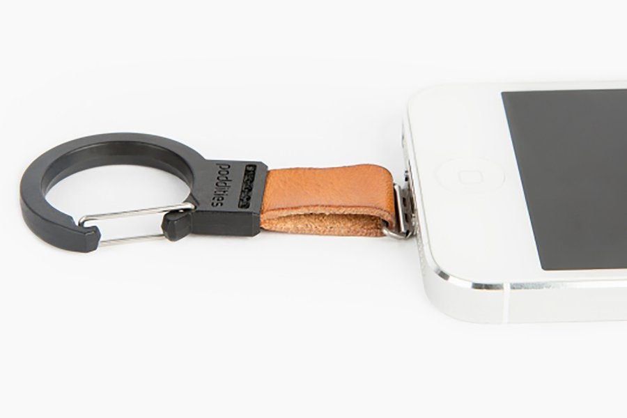 Leather Carabiner Clip