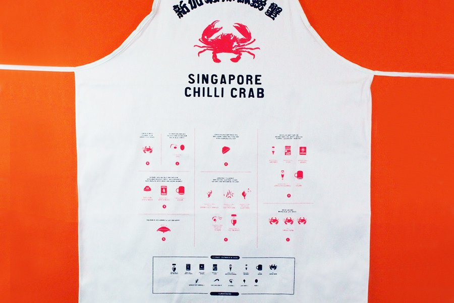 Chili Crab Apron