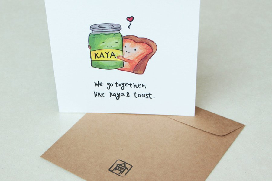 Kaya Toast Card