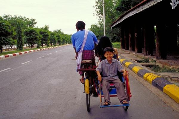 A Family in Burma