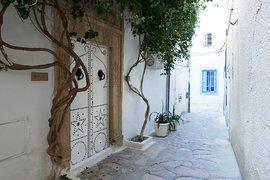 A street near the medina in Tunis, Tunisia.