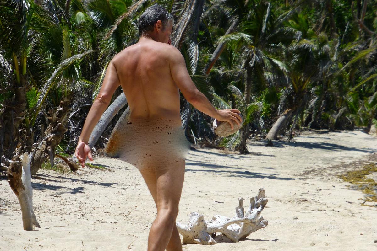 Turtle Island nude beach walker