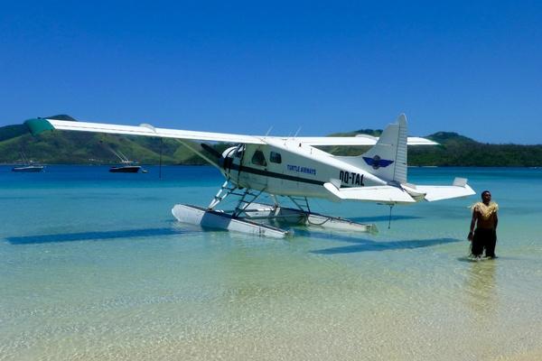 Turtle Island seaplane