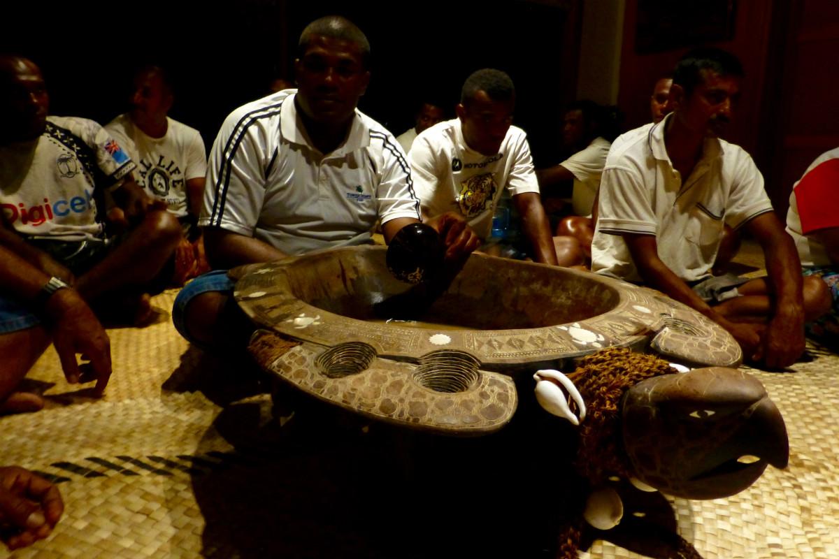 Turtle Island wood-carved turtle bowl