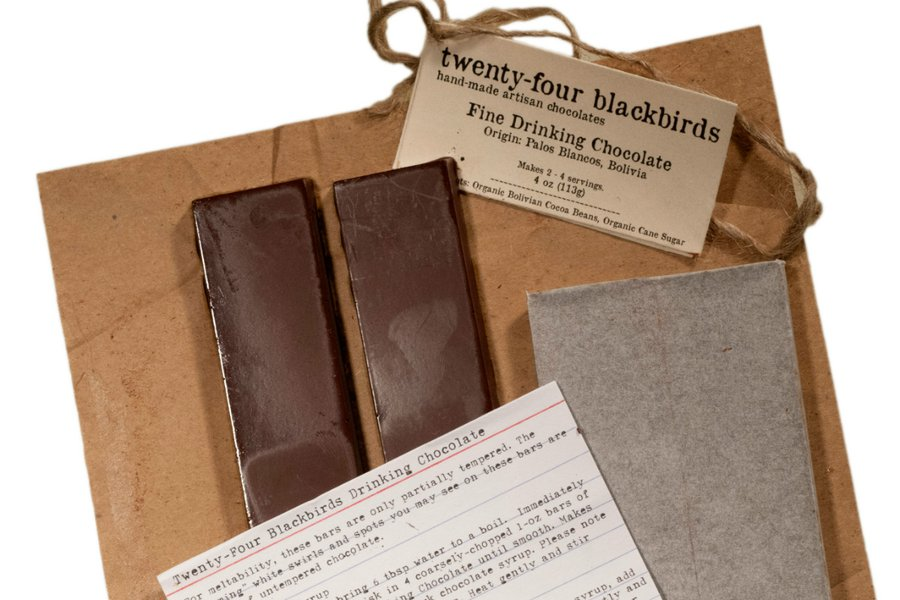 Twenty-Four Blackbirds Drinking Chocolate Kit