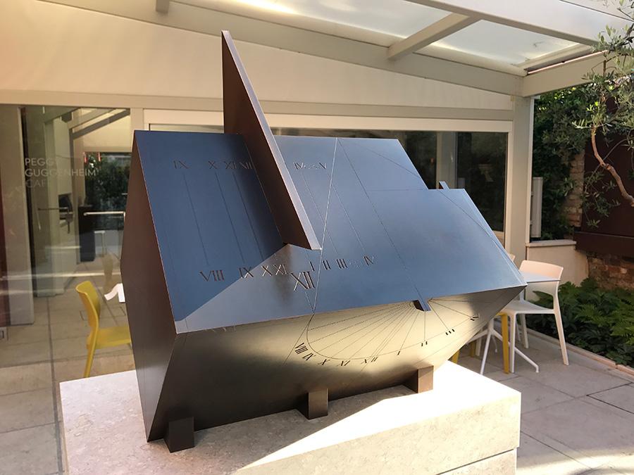 Guggenheim sundial