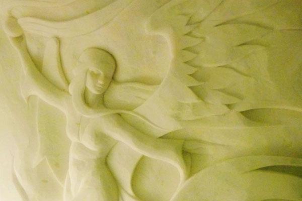 SnowCastle Sculpture