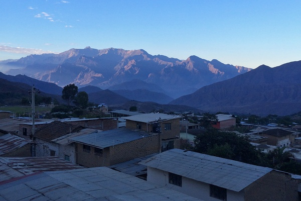 Morning in Cascas, Peru