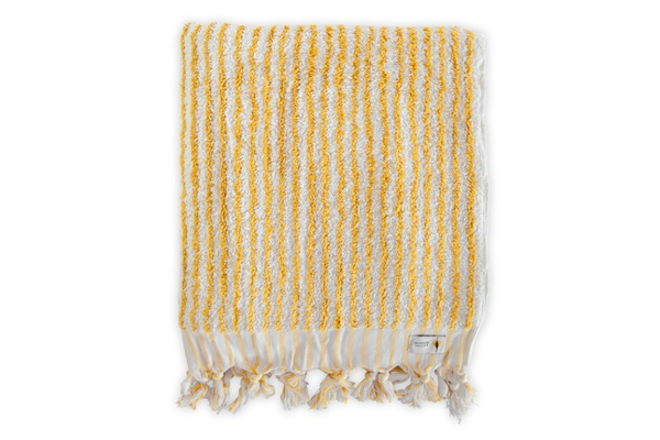 Wonder Valley Turmeric Striped Towel
