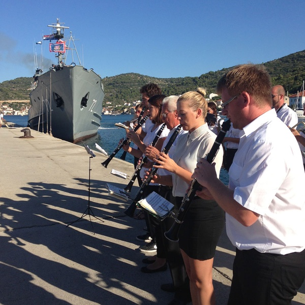 Croatian Navy Orchestra, Fort George, Vis