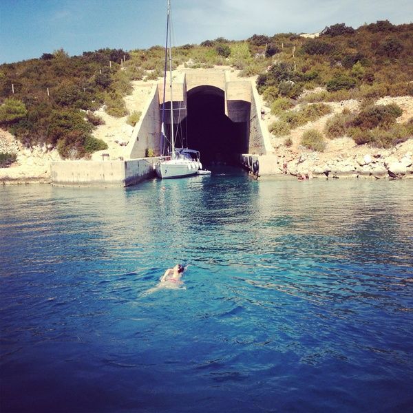 Bunker in Vis, Croatia