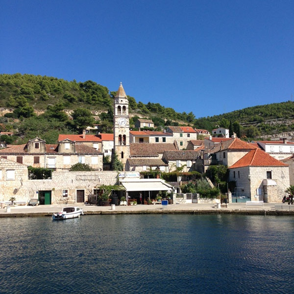 Vis Harbor, Croatia