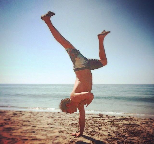 One-Arm Handstand