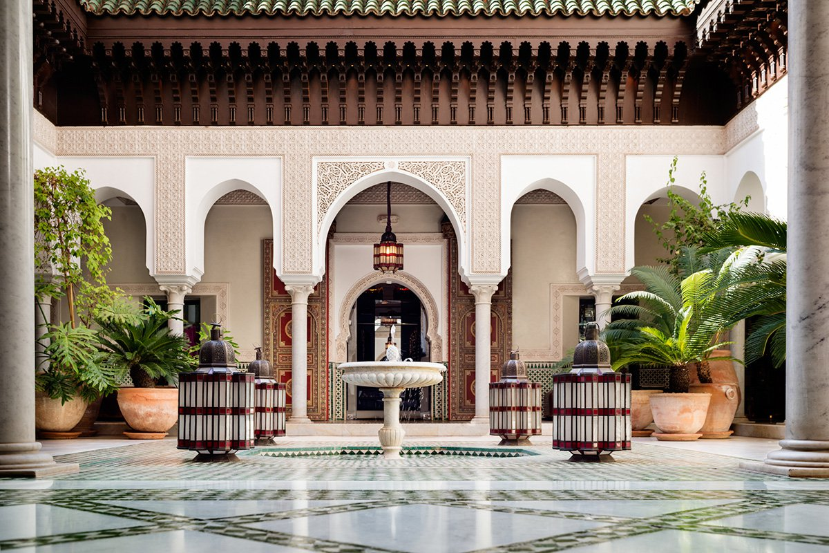 In Marrakech A Legendary Palace From A Bygone Era Fathom