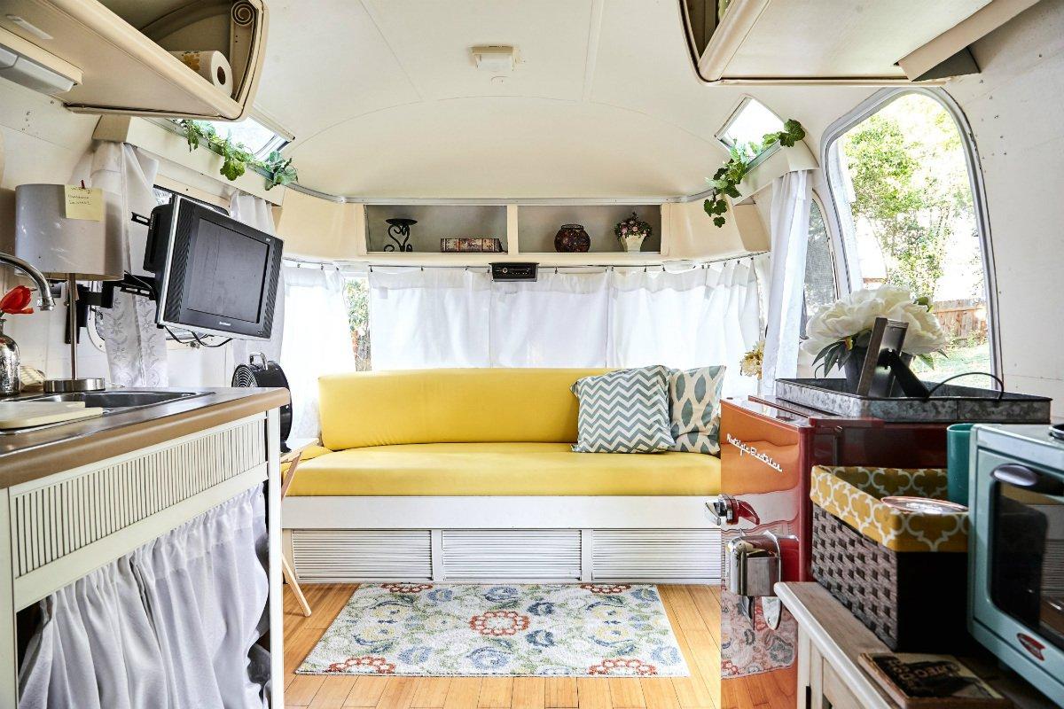 Camper van airbnb in Austin, Texas