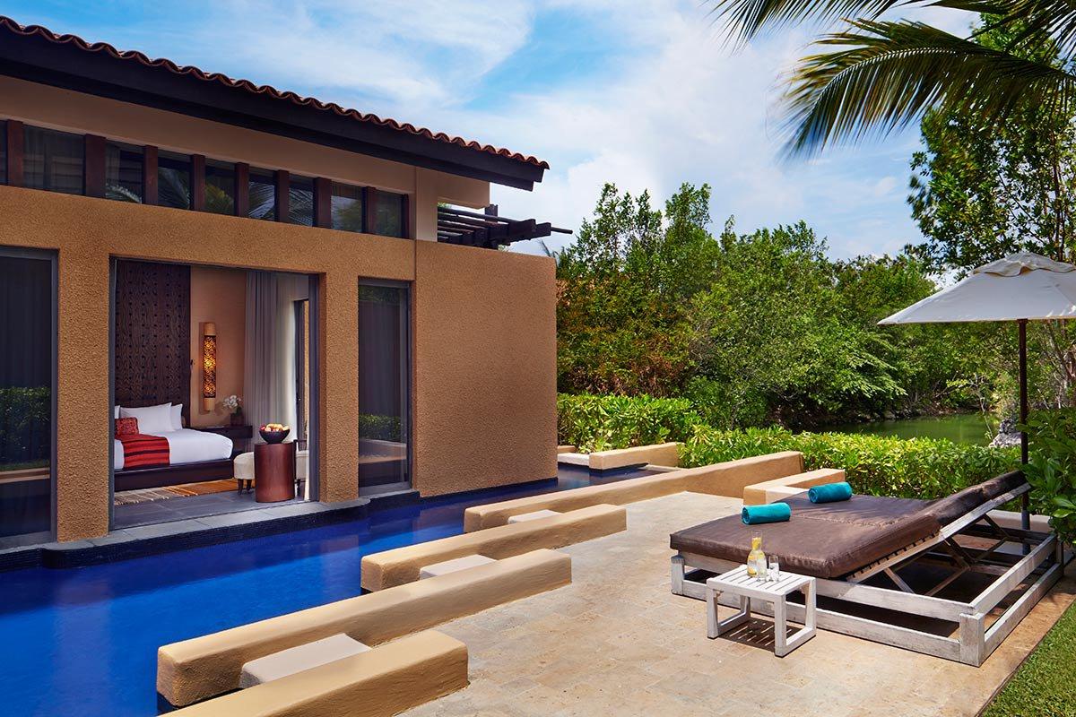 Bliss Pool Villa at Banyan Tree Mayakoba.