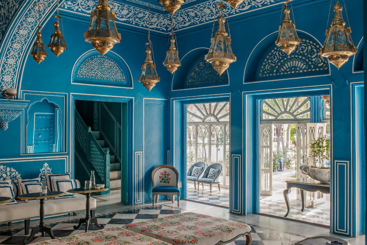 Caffé Palladio Jaipur, India. Photo by Henry Wilson.