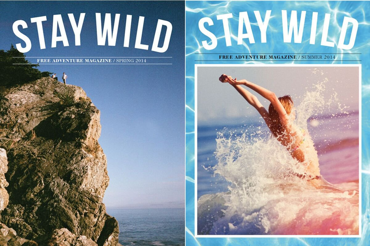Stay Wild Magazine Cover