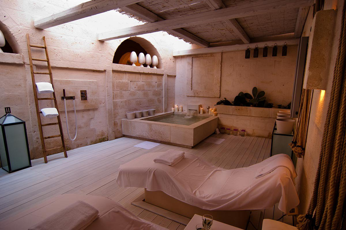 Spa suite at Vair spa.