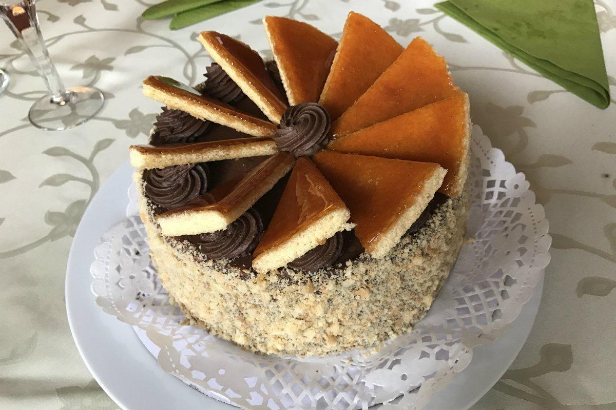 Dobos cake from Dauber.