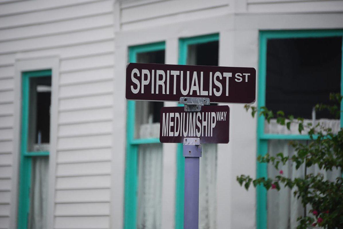 Cassadaga Spiritualist Camp, Florida.
