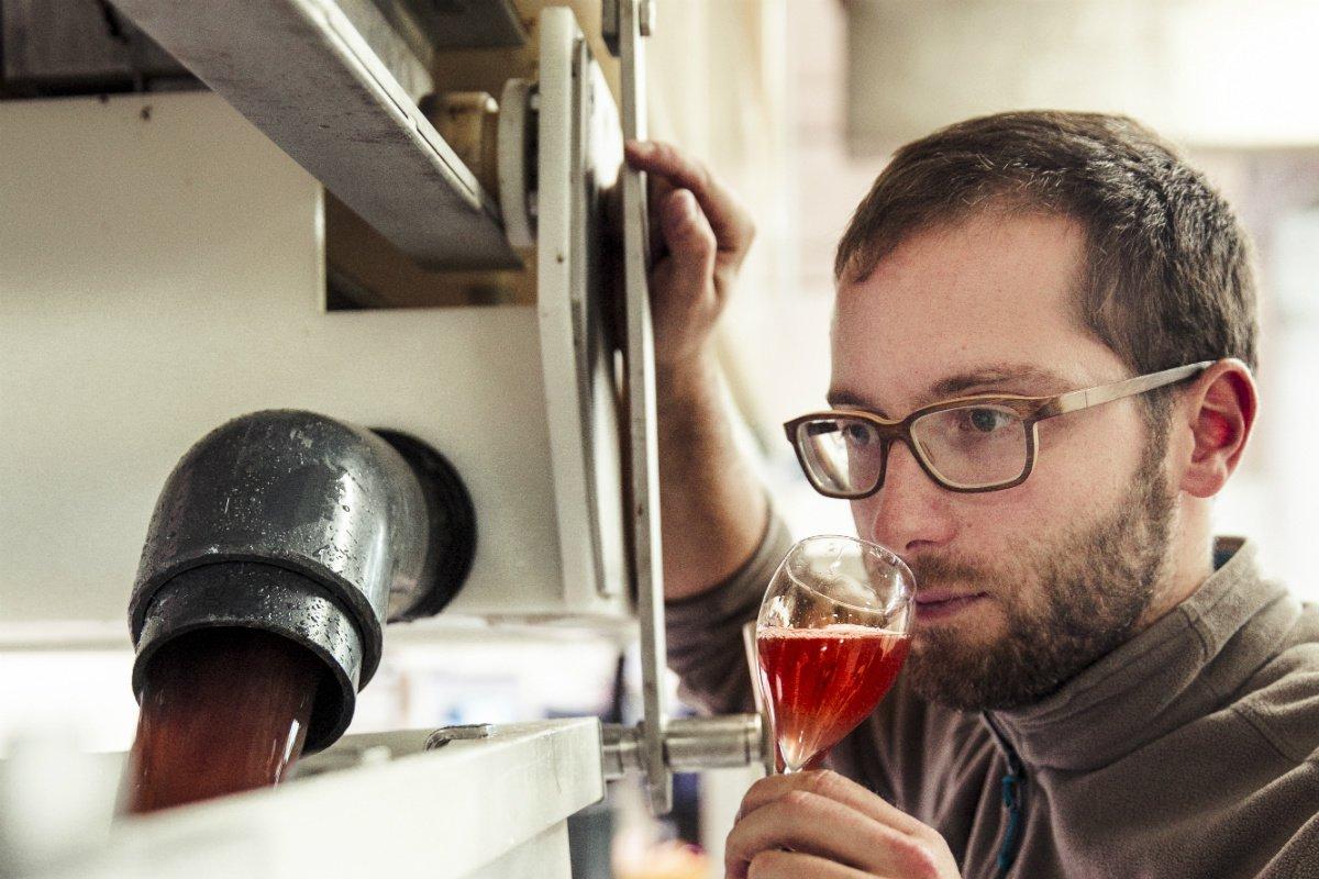 Emilien Boutillat Armand de Brignac tasting