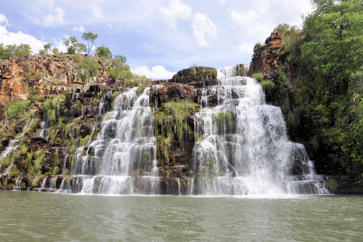 Waterfalls in Kimberley.
