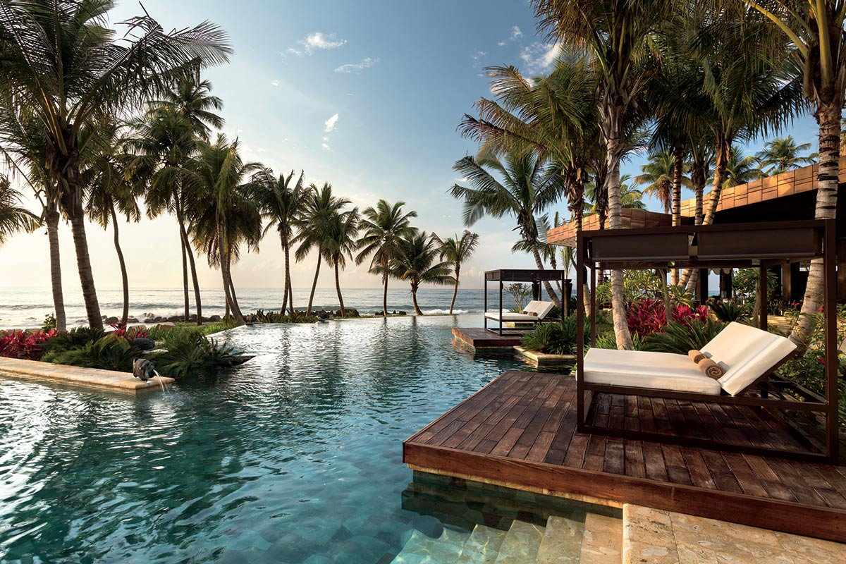 Pool at Ritz Carlton Dorado Beach.