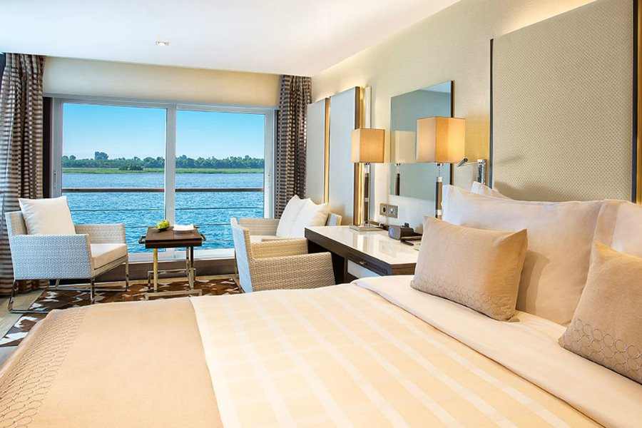 Sanctuary Nile cruise guest room interior